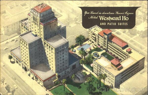 Westward Ho historic Postcard